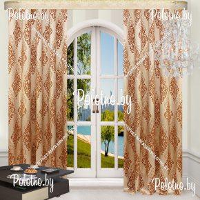 Комплект готовых штор в спальню и гостиную Анкара — 2.6