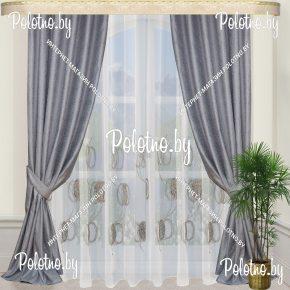 Комплект готовых штор в спальню и гостиную Ксения-лайт — 2.6