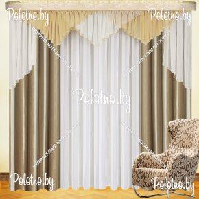 Комплект готовых штор в спальню и гостиную Оливия — 2.6
