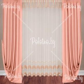 Комплект готовых штор в спальню и гостиную Эмили — 2.8