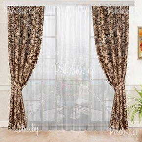 Готовые шторы Савана для спальни или гостиной