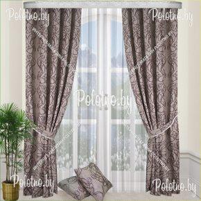Комплект готовых штор в спальню и гостиную Ульяна — 2.5