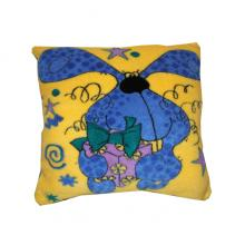 Подушка декоративная меховая Детская