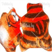Подушка декоративная меховая Кот
