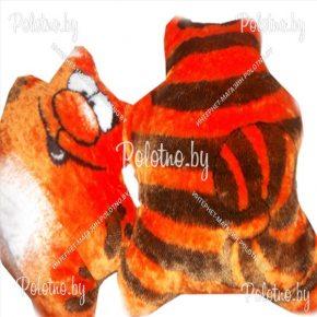 Меховая подушка кота