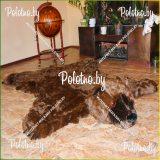 Коврик декоративный меховой Медведь Гризли