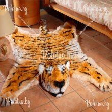 Коврик декоративный меховой Тигр