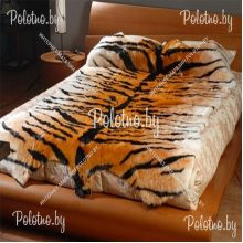 Коврик декоративный меховой Тигр 220х150