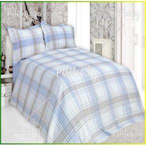 Купите комплект «Клетка » лен двуспальный — льняное постельное белье