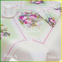 Комплект столовый чайный Аромат розы