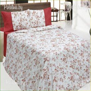 Купите комплект «Бриз» лен евро размера — льняное постельное белье