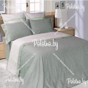 Купите комплект «Полюшко» лен евро размера  — льняное постельное белье