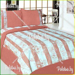 Купите комплект «Малиновка New» лен евро размера — льняное постельное белье