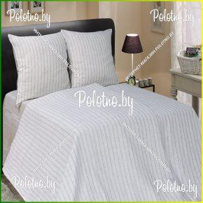 Купите комплект «Полоска» лен семейный дуэт — льняное постельное белье