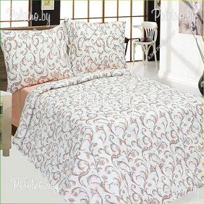 Комплект лен полуторный Элегантность — льняное постельное белье