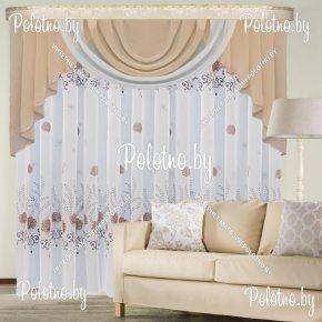 Комплект готовых штор в спальню и гостиную Вереск — 2.5