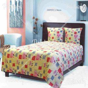 Купите комплект «Стиль» бязь полуторный — бязевое постельное белье