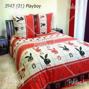 Купите комплект «Плейбой» бязь двуспальный — бязевое постельное белье