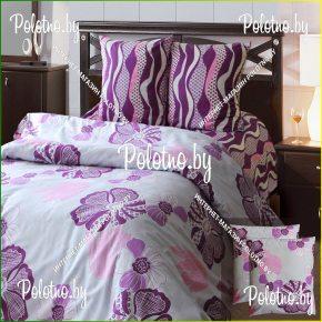 Комплект постельного белья евро размера декор