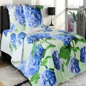 Купите комплект «Гортензия» бязь полуторный 70х70 — бязевое постельное белье