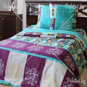 Купите комплект «Кардинал» бязь полуторный  — бязевое постельное белье