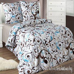 Купите комплект «Леон» бязь двуспальный — бязевое постельное белье 50х70