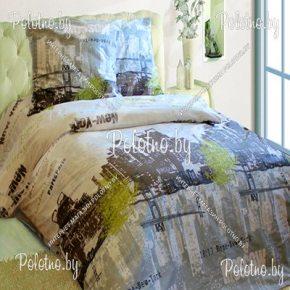 Купите комплект «Мегаполис-2» бязь двуспальный — бязевое постельное белье