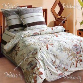 Купите комплект «Моккочино» поплин полуторный  — поплиновое постельное белье