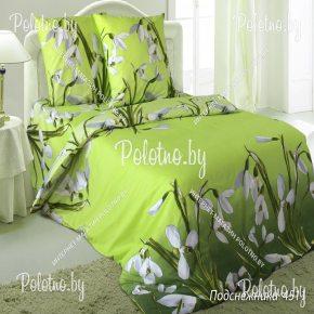 Купите комплект «Подснежники » бязь двуспальный — бязевое постельное белье