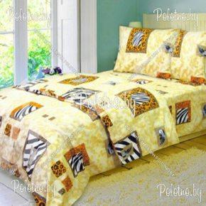 Купите комплект «Саванна» бязь полуторный 70х70 — бязевое постельное белье