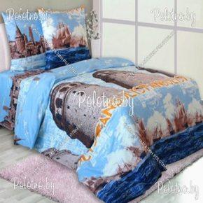 Купите комплект «Стамбул» бязь полуторный 50х70 — бязевое постельное белье
