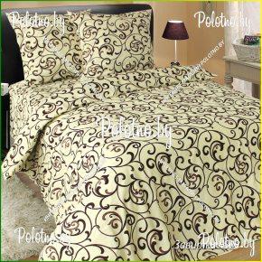 Купите комплект «Завитки» бязь полуторный 70х70 — бязевое постельное белье
