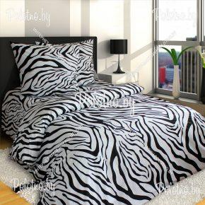 Купите комплект «Зебра» бязь полуторный 70х70 — бязевое постельное белье