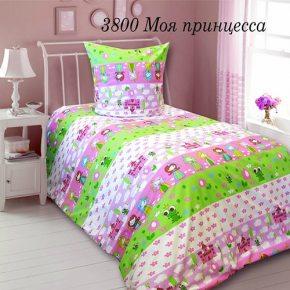 Комплект постельного белья в кроватку моя принцесса