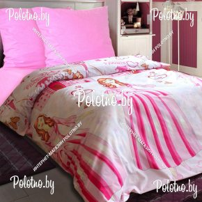 Комплект детский постельного белья Десятое королевство из бязи