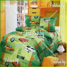 Комплект детский полуторный Авторалли-2 бязь