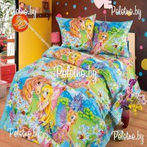 Комплект детский полуторный постельного белья Страна чудес
