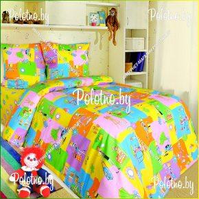 Купите комплект «Модница» бязь детский полуторный — бязевое постельное белье