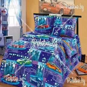 Детский полуторный комплект постельного белья Драйв