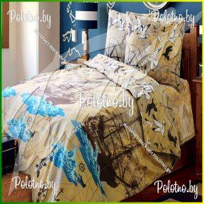 Комплект подростковый полуторный постельного белья Neverland из бязи