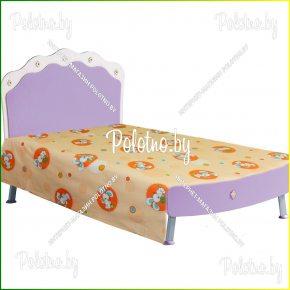 Детская простыня в кроватку пуговка