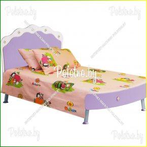 Детская простыня в кроватку азбука