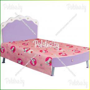 Детская простыня в кроватку пуговки