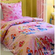Комплект детский в кроватку Винкс бязь