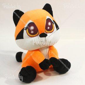 Мягкая игрушка енот Сенька оранжевый