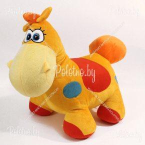 Мягкая игрушка Лошадка разноцветная