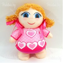 Мягкая игрушка кукла Анюта