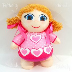 Мягкая игрушка кукла Анюта 2766/РЗ/30