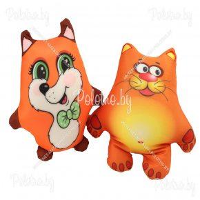 Мягкая игрушка лисенок или котенок