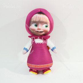 Мягкая игрушка Маша из мультфильма Маша и Медведь